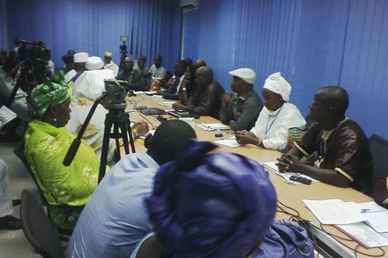 Rencontre : la Banque Mondiale en Guinée, la société civile et la Presse autour d'une table
