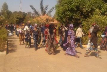 Kankan : Les résultats du concours de recrutement à la fonction publique frustrent les enseignants contractuels