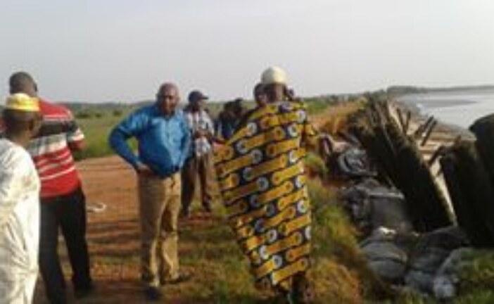 Kaback : Alerte de la PCUD sur la montée des eaux sur les champs de riz